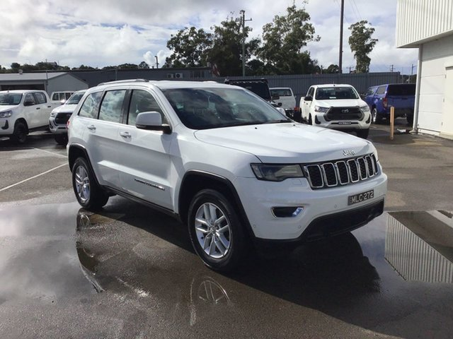 Pre-Owned Jeep Grand Cherokee WK MY17 Laredo Cardiff, 2017 Jeep Grand Cherokee WK MY17 Laredo White 8 Speed Sports Automatic Wagon