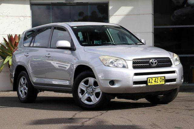 Used Toyota RAV4 ACA33R MY08 CV Sutherland, 2008 Toyota RAV4 ACA33R MY08 CV Silver, Chrome 5 Speed Manual Wagon