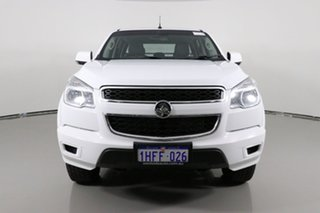 2015 Holden Colorado RG MY16 LS (4x4) White 6 Speed Automatic Crew Cab Chassis.