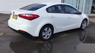 2015 Kia Cerato YD MY15 S White 6 Speed Sports Automatic Sedan.
