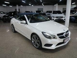 2013 Mercedes-Benz E-Class A207 MY13 E250 7G-Tronic + Diamond White Bright 7 Speed Sports Automatic.