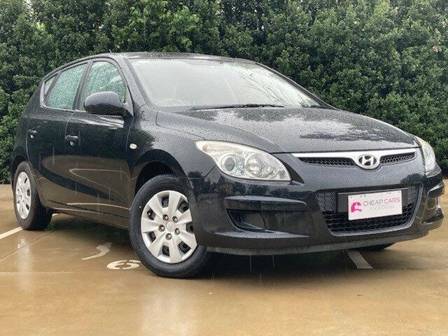 Used Hyundai i30 FD MY09 SX Toowoomba, 2009 Hyundai i30 FD MY09 SX Black 4 Speed Automatic Hatchback