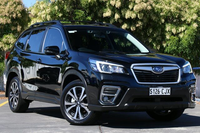 Used Subaru Forester S5 MY19 2.5i Premium CVT AWD Glenelg, 2019 Subaru Forester S5 MY19 2.5i Premium CVT AWD Black 7 Speed Constant Variable Wagon