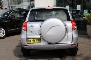 2008 Toyota RAV4 ACA33R MY08 CV Silver, Chrome 5 Speed Manual Wagon