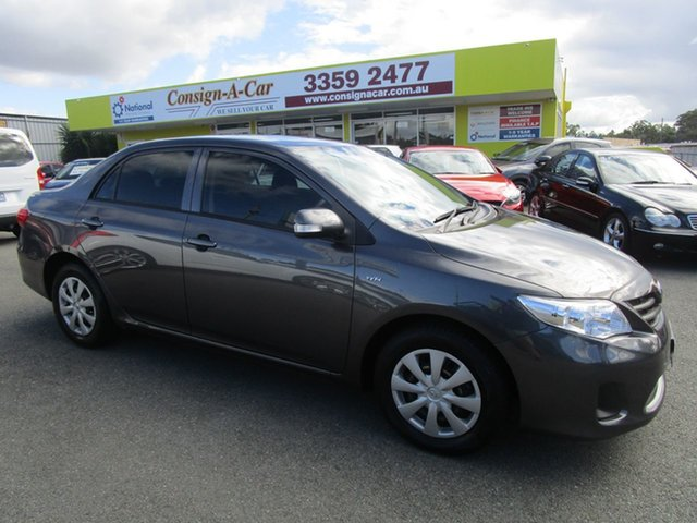 Used Toyota Corolla ZRE152R MY11 Ascent Kedron, 2011 Toyota Corolla ZRE152R MY11 Ascent Grey 4 Speed Automatic Sedan