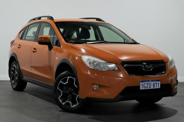 Used Subaru XV G4X MY12 2.0i AWD Bayswater, 2012 Subaru XV G4X MY12 2.0i AWD Orange 6 Speed Manual Wagon