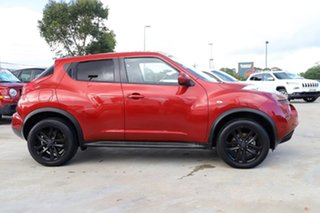2013 Nissan Juke F15 MY14 ST 2WD Red 1 Speed Constant Variable Hatchback.