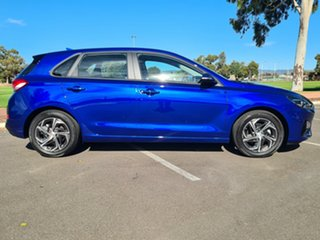 2020 Hyundai i30 PD.V4 MY21 Intense Blue 6 Speed Manual Hatchback.