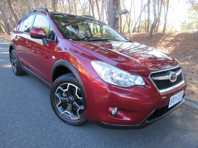 Used Subaru XV G4X MY14 2.0i-L AWD Reynella, 2014 Subaru XV G4X MY14 2.0i-L AWD Red/Black 6 Speed Manual Wagon