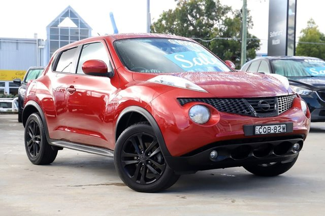 Used Nissan Juke F15 MY14 ST 2WD Kirrawee, 2013 Nissan Juke F15 MY14 ST 2WD Red 1 Speed Constant Variable Hatchback