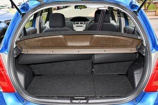 2010 Toyota Yaris NCP90R MY10 YR Blue 5 Speed Manual Hatchback