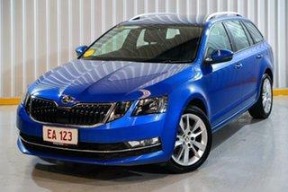 2019 Skoda Octavia NE MY19 110TSI Sedan DSG Blue 7 Speed Sports Automatic Dual Clutch Liftback.
