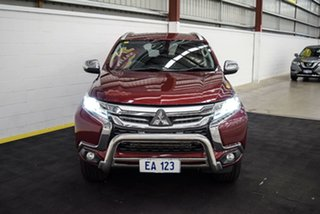 2016 Mitsubishi Pajero Sport QE MY16 GLS Red/Black 8 Speed Sports Automatic Wagon.