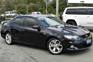 2009 Ford Falcon FG XR8 Black 6 Speed Auto Seq Sportshift Sedan.