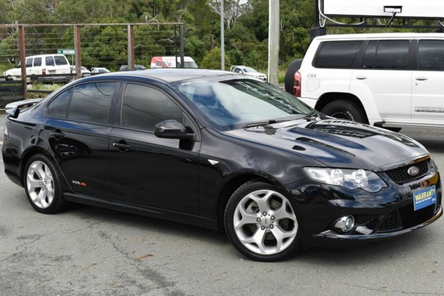 Used Ford Falcon FG XR8 Underwood, 2009 Ford Falcon FG XR8 Black 6 Speed Auto Seq Sportshift Sedan