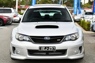 2010 Subaru Impreza G3 MY11 WRX STi AWD Spec R Spark Silver 6 Speed Manual Sedan