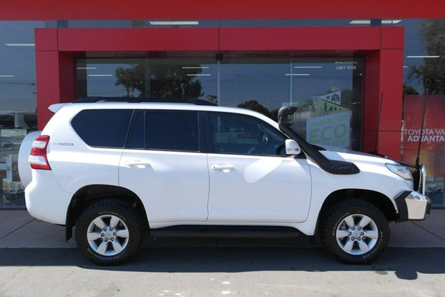 Used Toyota Landcruiser Prado KDJ150R MY14 GXL Swan Hill, 2014 Toyota Landcruiser Prado KDJ150R MY14 GXL White 5 Speed Sports Automatic Wagon
