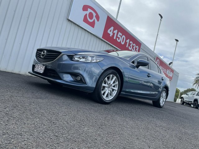 Used Mazda 6 GJ1031 Touring SKYACTIV-Drive Bundaberg, 2012 Mazda 6 GJ1031 Touring SKYACTIV-Drive 6 Speed Sports Automatic Sedan
