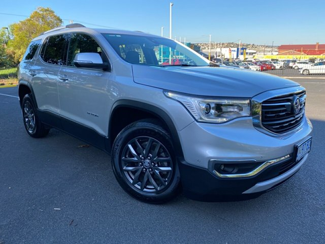 Used Holden Acadia AC MY19 LTZ 2WD Glenorchy, 2019 Holden Acadia AC MY19 LTZ 2WD Silver 9 Speed Sports Automatic Wagon