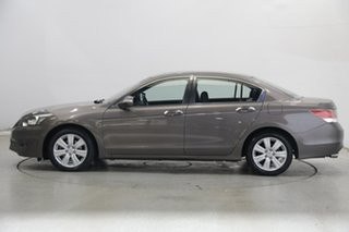 2013 Honda Accord 8th Gen MY12 V6 Luxury Brown 5 Speed Sports Automatic Sedan.