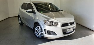 2012 Holden Barina TM MY13 CD Silver 5 Speed Manual Hatchback.