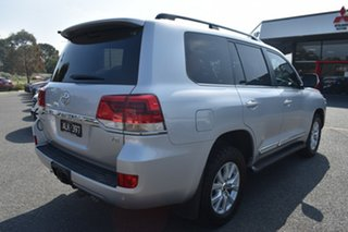 2017 Toyota Landcruiser VDJ200R Sahara Billet Silver 6 Speed Sports Automatic Wagon