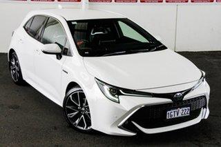 2019 Toyota Corolla ZWE211R ZR E-CVT Hybrid Glacier White 10 Speed Constant Variable Hatchback.
