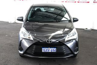 2019 Toyota Yaris NCP130R Ascent Graphite 4 Speed Automatic Hatchback.