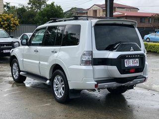 2014 Mitsubishi Pajero NX MY15 GLS White 5 Speed Sports Automatic Wagon.