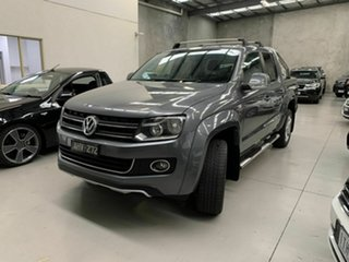 2013 Volkswagen Amarok 2H MY13 TDI420 4Motion Perm Ultimate Grey 8 Speed Automatic Utility.