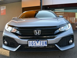 2019 Honda Civic 10th Gen MY19 VTi-L Silver 1 Speed Constant Variable Hatchback