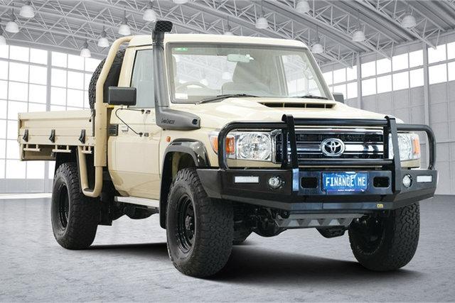 Used Toyota Landcruiser VDJ79R GXL Victoria Park, 2020 Toyota Landcruiser VDJ79R GXL Beige 5 Speed Manual Cab Chassis