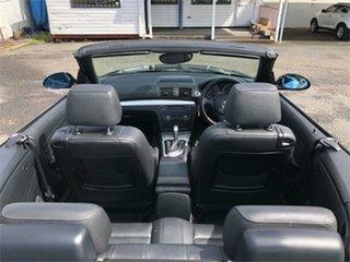 2009 BMW 120i E88 120i Black 6 Speed Automatic Convertible