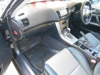 2005 Subaru Liberty B4 MY06 AWD Black 4 Speed Sports Automatic Sedan