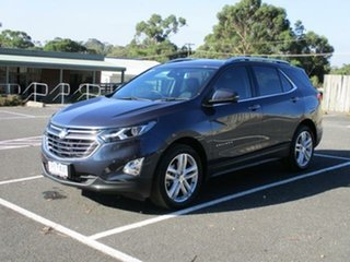 2018 Holden Equinox EQ Turbo LTZ Blue Steel Automatic Wagon.