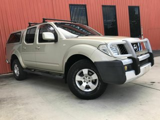 2011 Nissan Navara D40 MY11 ST Gold 5 Speed Automatic Utility.