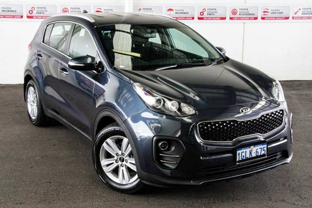 Pre-Owned Kia Sportage QL MY18 SI (FWD) Rockingham, 2018 Kia Sportage QL MY18 SI (FWD) Blue 6 Speed Automatic Wagon