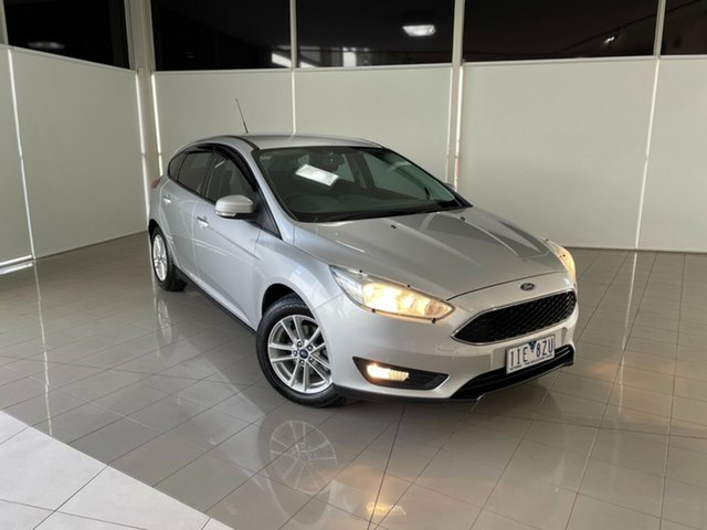 Used Ford Focus LZ Trend Deer Park, 2016 Ford Focus LZ Trend Silver, Chrome 6 Speed Manual Hatchback