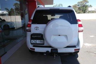 2014 Toyota Landcruiser Prado KDJ150R MY14 GXL White 5 Speed Sports Automatic Wagon