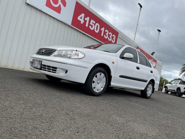 Used Nissan Pulsar N16 MY2004 ST Bundaberg, 2004 Nissan Pulsar N16 MY2004 ST White 4 Speed Automatic Sedan