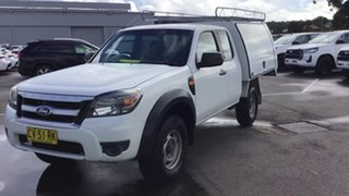 2009 Ford Ranger PK XL Hi-Rider White 5 Speed Manual Cab Chassis