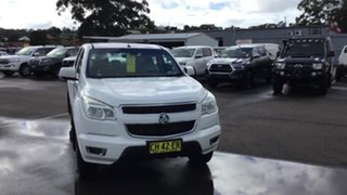 2016 Holden Colorado RG MY16 LT Crew Cab 4x2 White 6 Speed Sports Automatic Utility