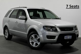 2010 Ford Territory SY MkII TX Silver 4 Speed Sports Automatic Wagon.