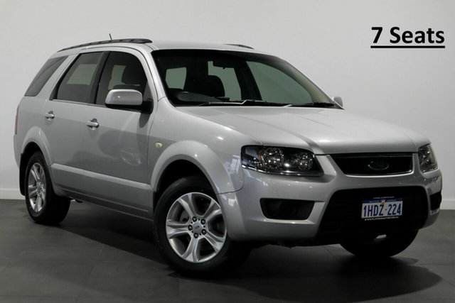 Used Ford Territory SY MkII TX Bayswater, 2010 Ford Territory SY MkII TX Silver 4 Speed Sports Automatic Wagon