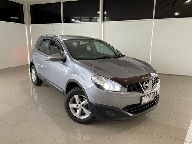 Used Nissan Dualis J10 Series II MY2010 +2 Hatch X-tronic ST Deer Park, 2011 Nissan Dualis J10 Series II MY2010 +2 Hatch X-tronic ST Grey 6 Speed Constant Variable