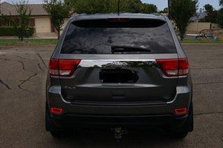 2012 Jeep Grand Cherokee WK MY13 Laredo (4x4) Grey 5 Speed Automatic Wagon.