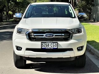 2020 Ford Ranger PX MkIII 2020.75MY XLT Arctic White/penta F 10 Speed Sports Automatic.
