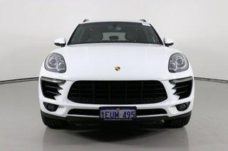 2015 Porsche Macan MY15 S Diesel White 7 Speed Auto Dual Clutch Wagon.