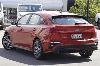2020 Kia Cerato BD MY21 GT DCT Sunset Orange 7 Speed Sports Automatic Dual Clutch Hatchback.