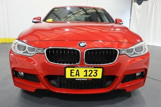 2013 BMW 320d F30 MY0813 320d Red/Black 8 Speed Sports Automatic Sedan